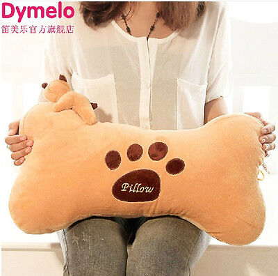 Dog Bone Shape Pillow Plush Toy Stuffed Doll Cushion Creative Birthday Gift