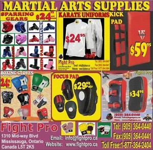 MARTIAL ARTS, BOXING, JUDO, MMA UNIFORMS &; SUPPLIES, SAVE 60 TO 75%, ON MOST ITEMS,CALL (905) 364-0440 WWW.FIGHTPRO.CA