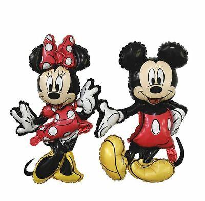 Minnie & Mickey Mouse Aluminiumfolie Ballon Geburtstag Party Dekoration Baby NEU