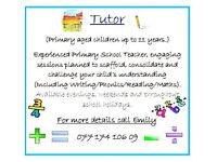Personal tutoring