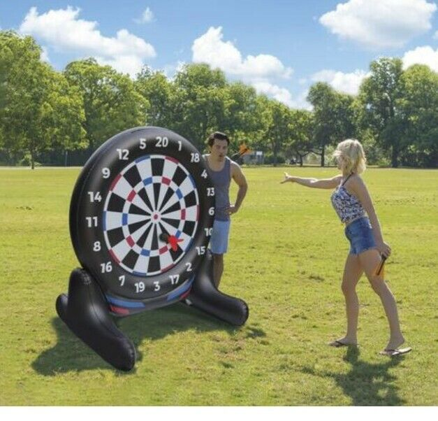 Giant Inflatable Dartboard - Summer Back Yard Game | Outdoor - Pool or Garden