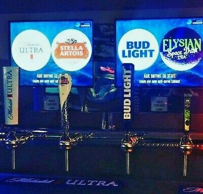 Drink Command Automated 4-tap Draft Beer Unit New Pos System Slightly Used