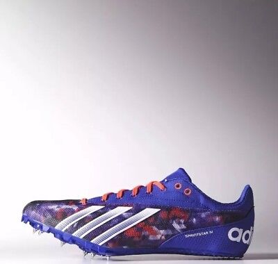 - Adidas Men's Sprint Star 4 M Track Spikes Shoes Sz. 8 NEW B35916