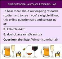 Social Drinkers with a Family History of Alcohol Problems