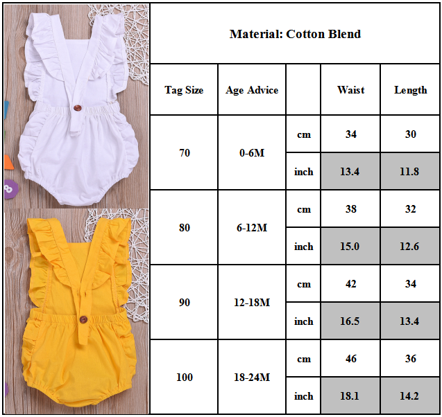 Toddler Casual Summer Playsuit Jumpsuit Clothes