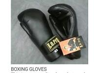K.O professional boxing gloves