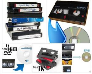 We convert all Europian/Asian PAL camcorder videotapes to DVD