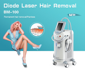 Permanente Vertical 808nm Diode Laser Equipment / Depilacion