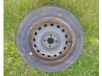 4 Studs Wheel with Legal Tyre 175/65/R15 - SPARE WHEEL 175/65/15