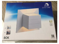 Brand new Set of 2 Lucide Bok Wall Lights