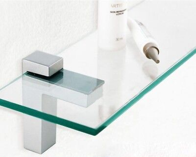 Adjustable Shelving Brackets (Pair Of Adjustable Glass/Wood Shelf Brackets)