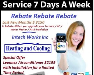 Spring sale Furnace and Air conditioner