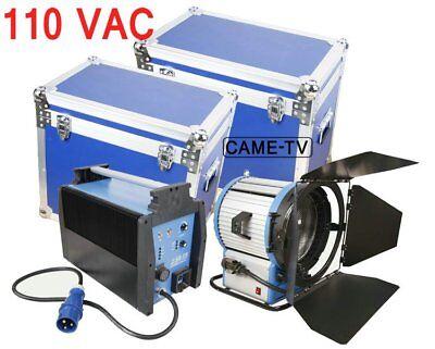 110V Flicker Free 4000W HMI Fresnel Light W/ Electronic Ballast