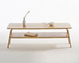 Brand new La Redoute Jimi mid century two tier coffee table