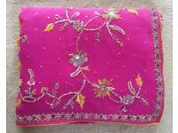 Pink and yellow sari ***NEW***