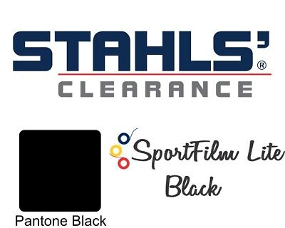 15 X 5 Yards 15 Ft - Stahls Sportfilm Lite Heat Transfer Vinyl Htv - Black