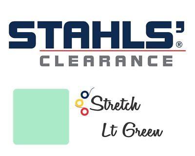15 X 5 Yards - Stahls Stretch Heat Transfer Vinyl Htv - Lt Green