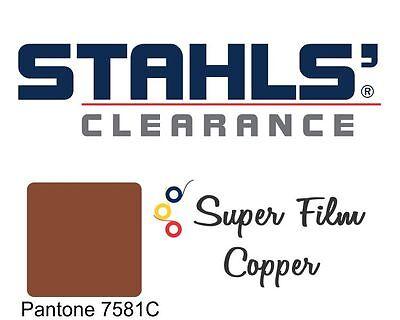 20 X 5 Yards - Stahls Super Film Heat Transfer Vinyl Htv - Copper