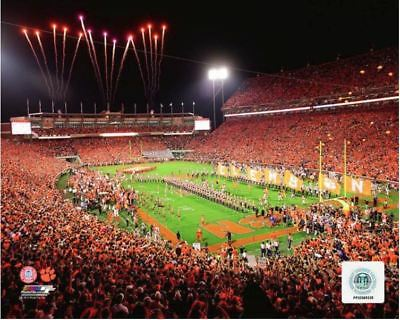Memorial Stadium Death Valley Clemson University Authentic 8x10 Photo #2