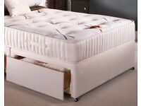 BRANDNEW Factory Wrapped Divan Bed and Top Quality Mattress FREE Headboard Call Ross