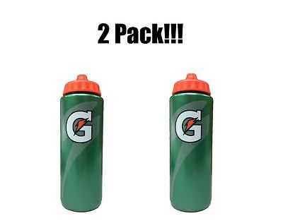 2 Pack Official Gatorade 20 fl oz Squeeze Water Bottle Sports Drink