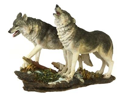 WOLFS FIGUR WOLFSPAAR WÖLFE WOLF WALD WILD LIFE NEUHEIT WO115