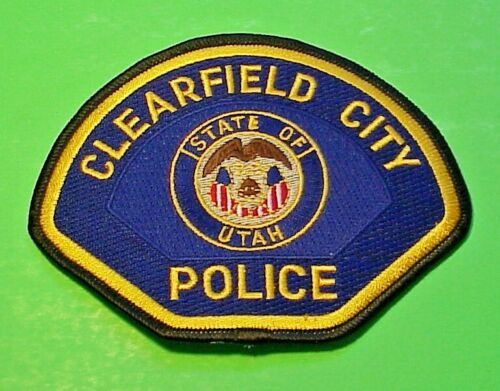 CLEARFIELD CITY UTAH  UT POLICE PATCH  FREE SHIPPING!!