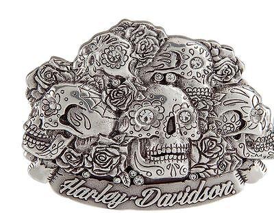 Harley-Davidson Women's Glam Reaper Belt Buckle HDWBU11217