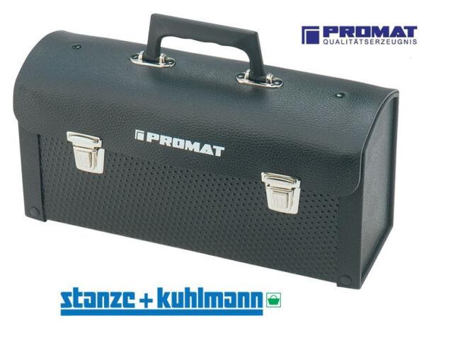 Robuste Promat Rindleder Werkzeugtasche 360x110x170mm - Feuchtigkeitsbeständig