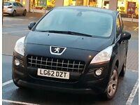 2012 Peugeot 3008 1.6L HDI Auto Crossover SUV FSH HPi Clear Not Nissan Qashqai toyota rav4 honda crv