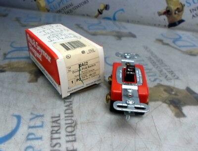 Pass Seymour Legrand 20ac2 Brown Double Pole Switch Nib