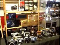 Cameras, Lenses, Accessories for sale - Sunday 22nd April, Wolverhampton Racecourse, WV60PE