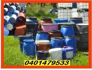 Drums.All sizes.Steel&Plastic(Delivery*)-Food Grade Penrith Penrith Area Preview