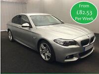 £82.53 PER WEEK 2014 BMW 520 2.0TD (184bhp) M SPORT STEP DIESEL 4 DOORS AUTO