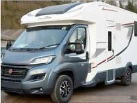 NEW 2018 Motorhome Hire TLine 740 - 4/6 berth, rear island bed, electric double