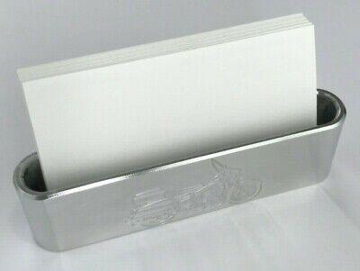 Business Card Holder Billet Aluminum Engraved H-d Motorcycle Cruiser Polished