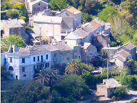 Corsica: 5 Person comfortable gite in traditional stone house, Cap Corsica, view over maquis and sea