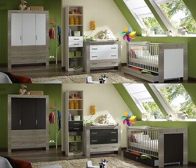 Babyzimmer Emily Baby Babybett Wickelkommode Schrank verschiedene Ausführungen - Emily Baby Möbel