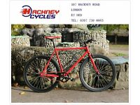 Brand new single speed fixed gear fixie bike/ road bike/ bicycles + 1year warranty & free service d2