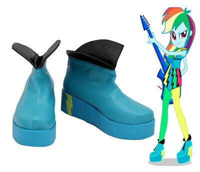My Little Pony Equestria Girls Rainbow Dash Cosplay Costume Kostüm Schuhe Shoes - Rainbow Dash Cosplay Kostüm
