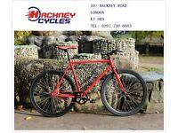 Brand new single speed fixed gear fixie bike/ road bike/ bicycles + 1year warranty & free service op
