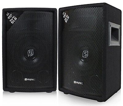 COPPIA CASSE ACUSTICHE PASSIVE diffusori 500W no amplificate MOQUETTE