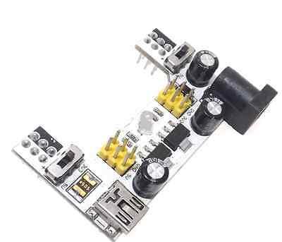 1pcs Upgraded K2 Mb102 Breadboard Power Supply Module 3.3v 5v For Solderless Ca