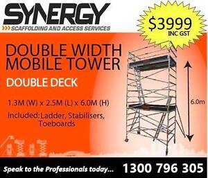 Synergy Scaffolding Aluminium–Dimensions: 1.3 X 2.5 X 6.2 Revesby Bankstown Area Preview