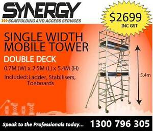 Scaffolding Aluminium –Dimensions: 0.7 X 2.5 X 5.4 Revesby Bankstown Area Preview