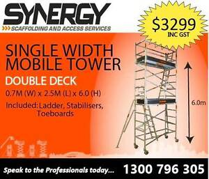 Scaffolding Aluminium – (Dimensions: 0.7 X 2.5 X 6.6) Revesby Bankstown Area Preview