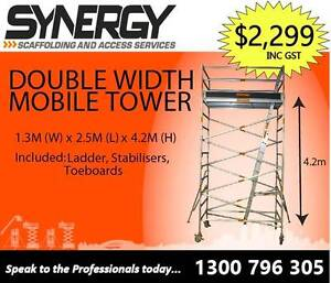 Synergy Scaffolding Aluminium –Dimensions: 1.3 x 2.5 x 4.4 Revesby Bankstown Area Preview