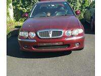 Rover 45 52 plate 1 former keeper