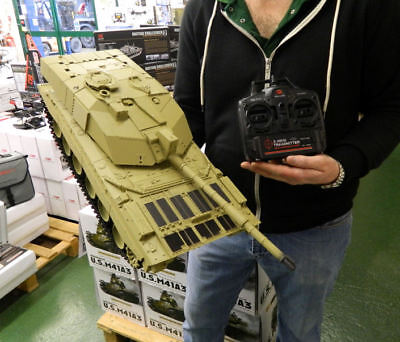 NEW Heng Long Radio Remote Control RC Tank Challenger II 1/16th 2.4GHz