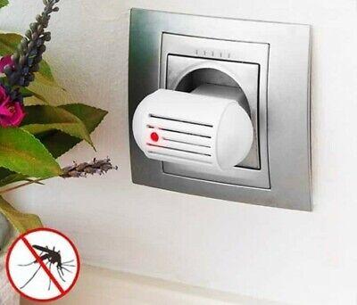 Enchufe Antimosquitos Eléctrico Repelente Ultrasonidos Insectos Moscas